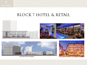 Block 7 - Hotel and Retail
