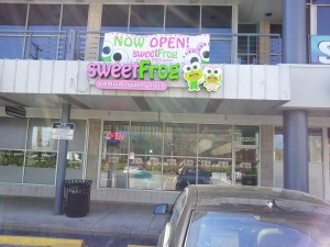 sweetFrog front