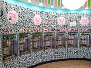 sweetFrog flavors