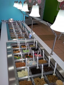 sweetFrog toppings