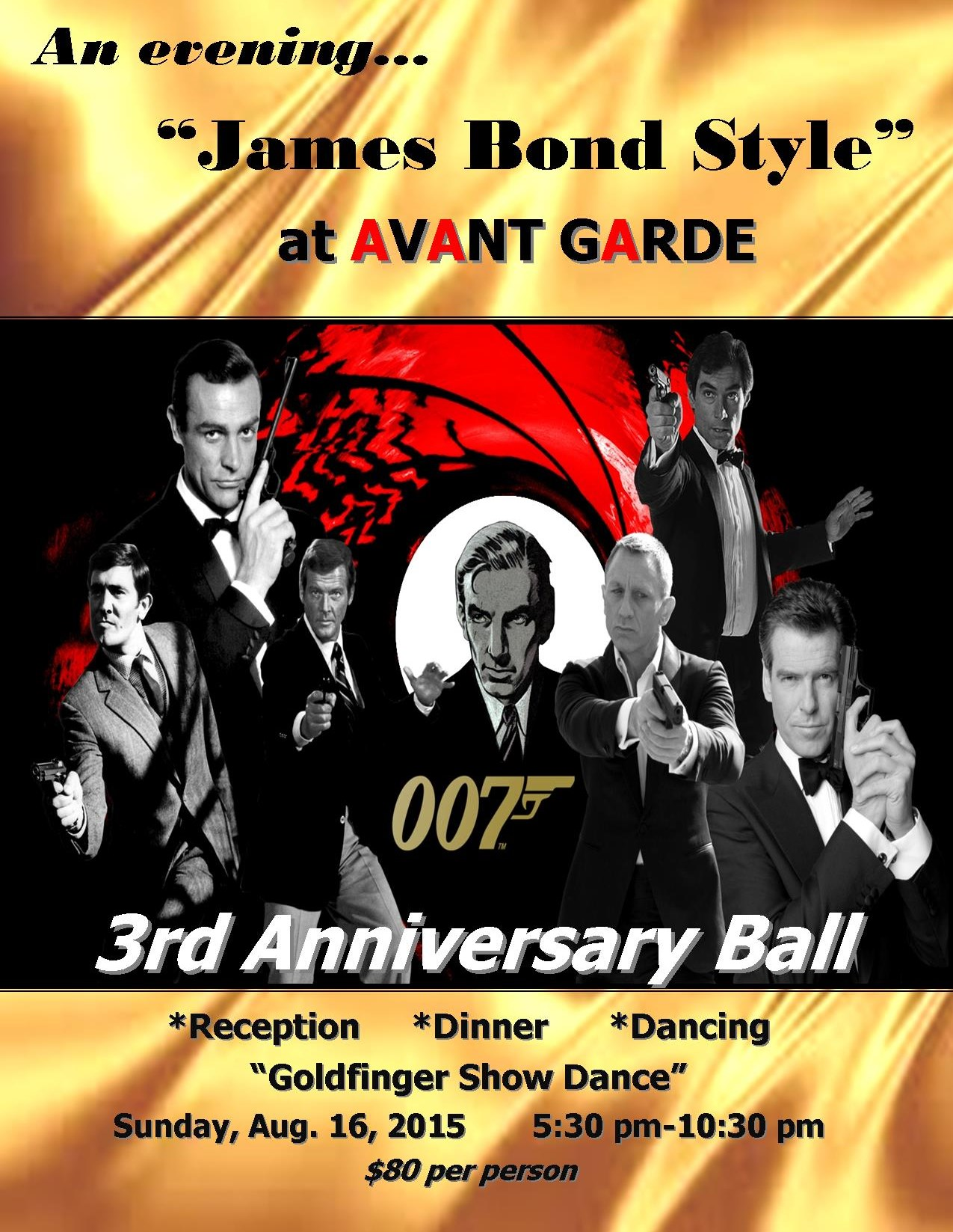 Anniversary Ball Poster for Print