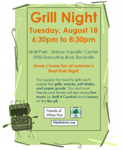 grill night invitation