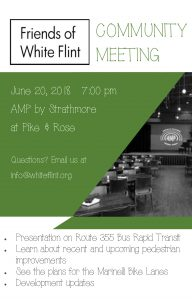 Friends of White Flint Community Meeting @ AMP by Strathmore | North Bethesda | Maryland | United States