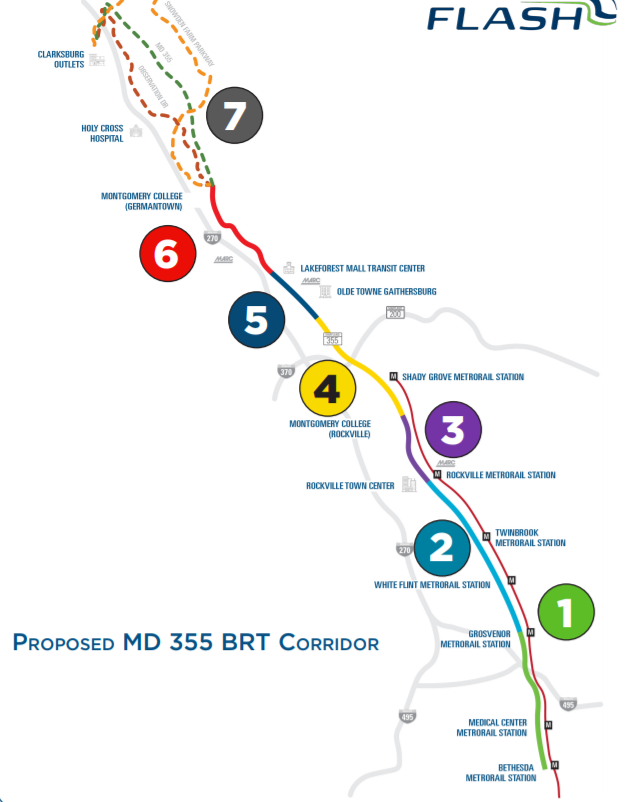Check out the Route 355 BRT Presentation | Friends of White